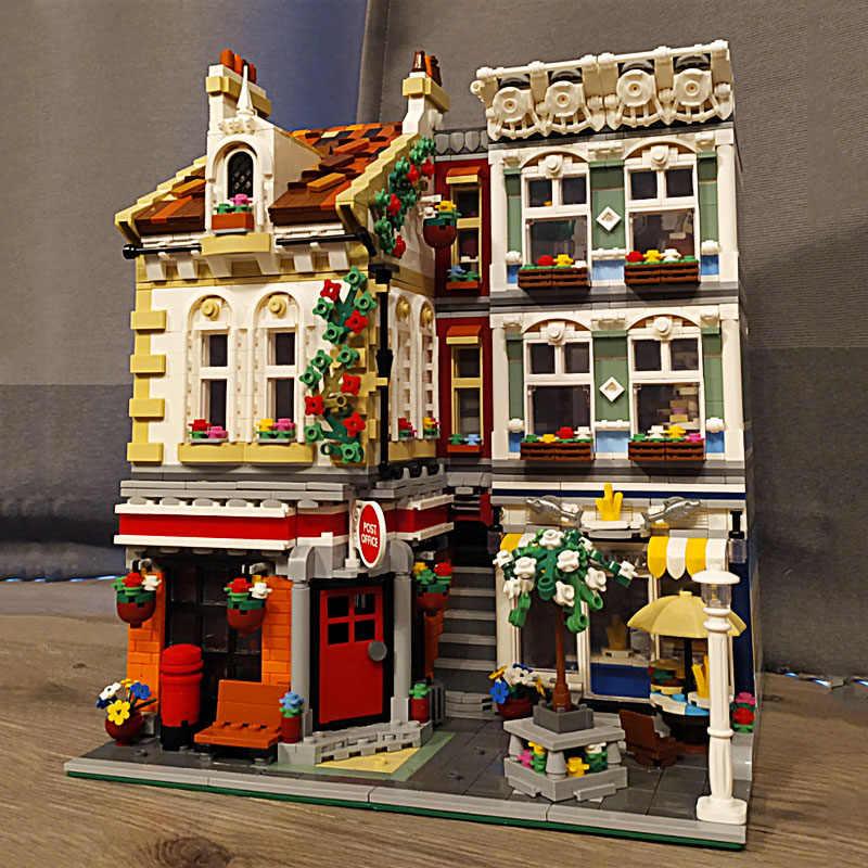 2344PCS Creator Detective Agency Office Building Blocks Bricks Model MOC Figure