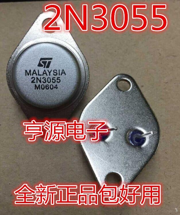10 шт. Золотое уплотнение 2 n3055 MJ2955, подходящая трубка NPN транзистор TO-3, новое оригинальное качество