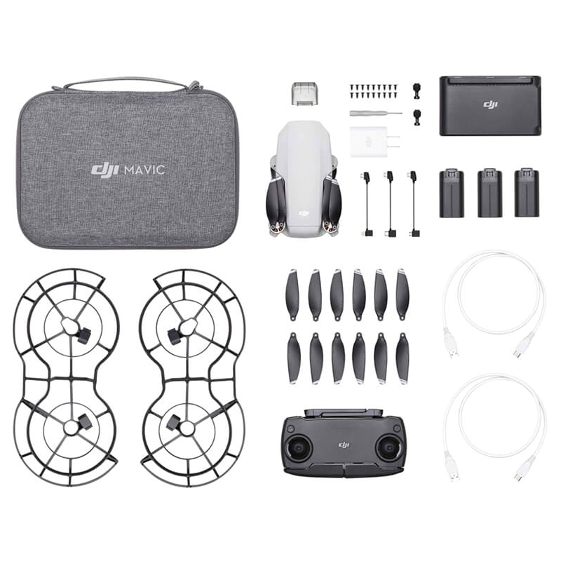 In Stock DJI Mavic Mini Drone 2.7k 3 Axis Gimbal Camera Is MT1SS5/MT1SD25 Flight Time 30 Minutes Original Brand New Drone Set