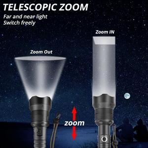Image 4 - Super Heldere Led Zaklamp Xhp70.2 Krachtige 26650 Usb Zaklamp Xhp50 Lantaarn 18650 Jacht Lamp Hand Licht Voor Dropshipping