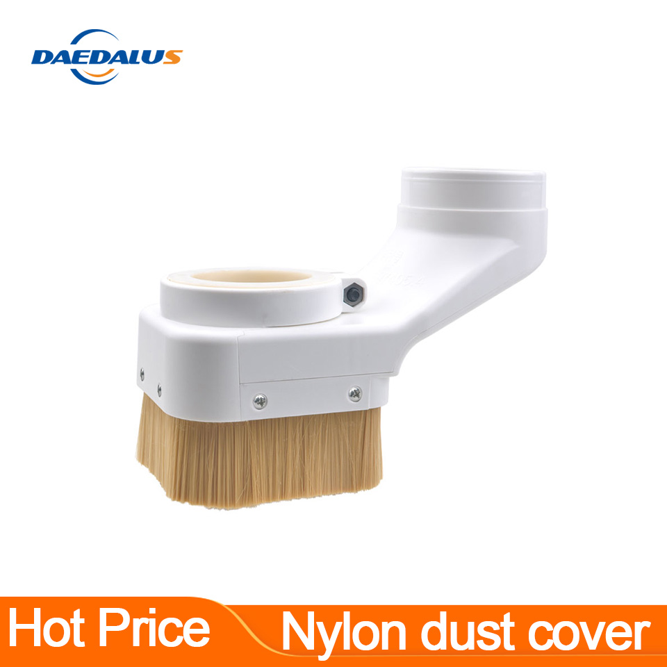 CNC Dust Cover Collector 70mm 75mm 80mm 85mm 90mm 100mm For Engraving Machine Dust Cover Spindle Motor