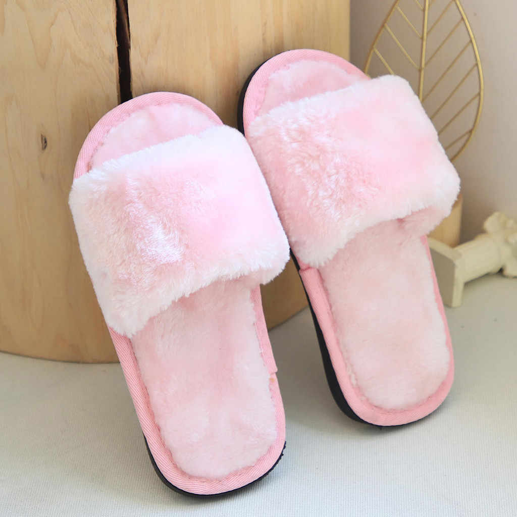 Kids Slippers Toddler Infant Kids Baby Warm Shoes Boys Girls Cartoon Soft-soled Slippers Children Shoes Kapcie Dla Dzieci