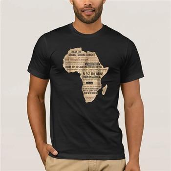 brand men Bless Africa Rains On Toto TShirt Mens Short sleeve  the fashion summer mens tshirt - discount item  23% OFF Tops & Tees