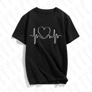 Женская футболка с буквенным принтом в готическом стиле, с коротким рукавом, хлопок, размера плюс, уличная одежда