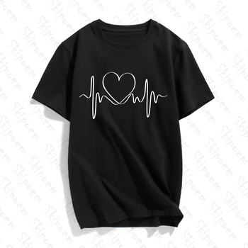 Holding Hands Letter Copies From The London Of Modern Art T-shirt Women Gothic Short Sleeve Cotton Plus Size Clothes Streetwear holding hands