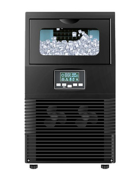 the best selling kn beer maker making machine with 50l water tank 200w on promotions Electric Square Shape Ice Maker Automatic Portable Block Ice Cube Making Machine For Bar Coffee Shop 40kg/24H WZB-40F/A 200W