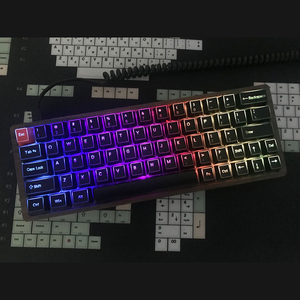 Image 5 - YMDK ABS ANSI ISO Side lit Top lit 1.5mm Thickness Shine Through Keycap For YMD75 KBD75 Keycool 84 KBD67 XD64 GK64 (Only caps)