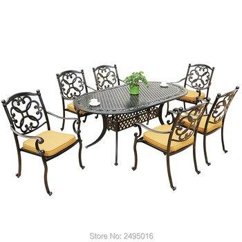 патио стол с 6 стульями