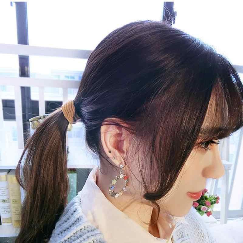 20 шт./компл. корейский резинкой; прическа хвостик; Простые эластичные резинки для волос, свадебные аксессуары для путешествий уличные аксессуары для живописи
