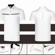 Новая одежда для гольфа, мужская спортивная одежда, футболка с коротким рукавом на весну и лето, быстросохнущая дышащая Повседневная Толстовка