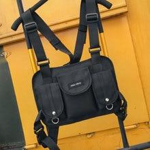 Chest-Bag Cross-Backpack Waist-Shoulder-Bag Tactical New-Fashion Streetwear Men Hip-Hop