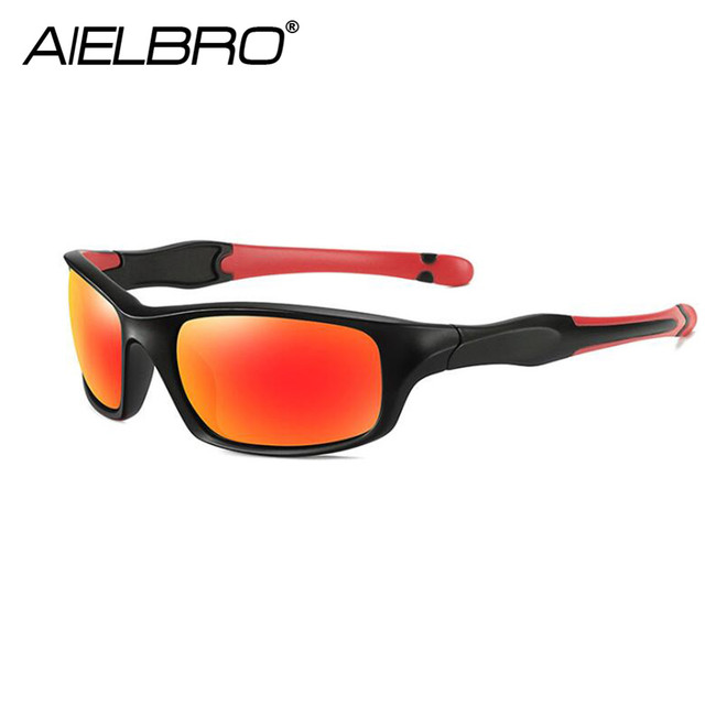 AIRLBRO Cycling Goggle 8 Color Polarized Sunglasses UV400 Cycling Sunglasses Men's Cycling Safety Glasses For Bicycle 2