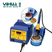 Digital LED automatic Temperature Soldering Station with large power soldering iron tool YIHUA 937BD+