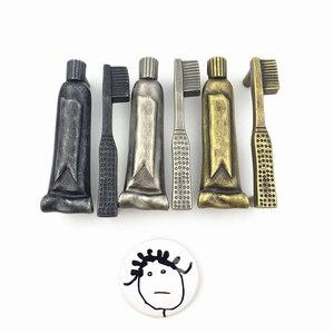 LCH haute qualité Unique conception artistique meubles matériel trou pas 76mm dentifrice brosse à dents armoire poignée tiroir tire