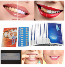 28Pcs/14Pair White Gel Teeth Whitening Strips Oral Hygiene Care Tooth Dental Bleaching Tools