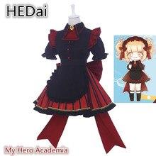 My Hero Academy Little Hero coffee Shop Himiko Toga кафе горничной женский костюм кошки Косплей платье Хэллоуин женская одежда костюмы