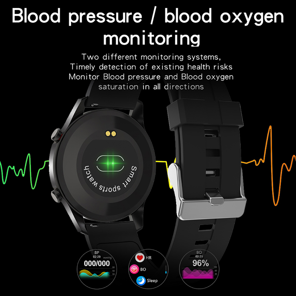 H7c40f77df9b64d58b04e7613c492afc2l LIGE New Smart watch Men Full touch Screen Sports Fitness watch IP68 waterproof Bluetooth Suitable For Android ios Smart watch