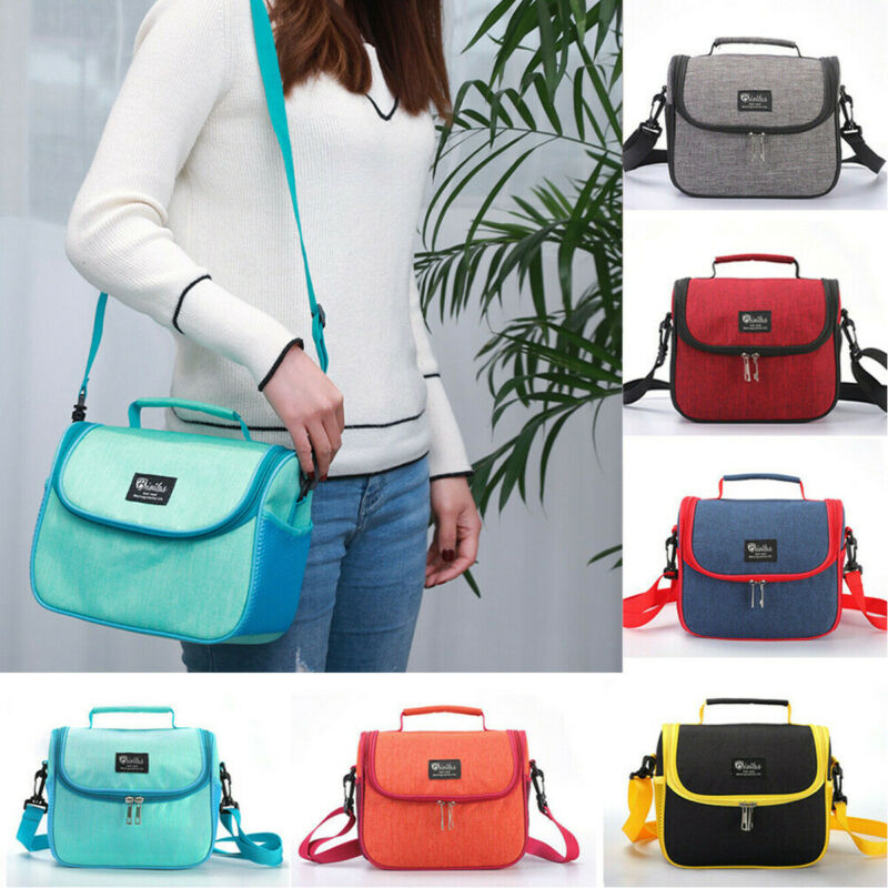 New Insulated Thermal Mini Lunch Bag For Kids Boy Girl School Adult Lunch Box Cooler Traveling Insulation Lunch Bag