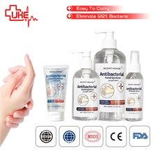 Дезинфицирующий Гель для мытья, 75% спиртовое антибактериальное дезинфицирующее средство для рук, флакон распылитель с CE & FDA