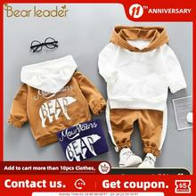 Suit Baby Infant Clothing Newborn Costume Outfit Pant Hoodie Winter Autumn Bear Leader