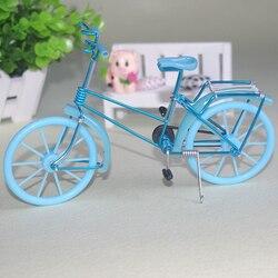 Мини велосипед моделирование модель велосипеда игрушки для кукольного дома украшения мебели игрушки маленький велосипед Модель