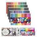 160 Colori Professionale Matite Colorate per Disegno Schizzo Artista Matita di Legno Colori a Acqua Matita Set per La Scuola Rifornimenti di Arte