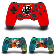 Dragon Ball PS4 Controller Skin Sticker Vinyl Decal Sticker for Sony PlayStation 4 DualShock 4 Wireless Controller