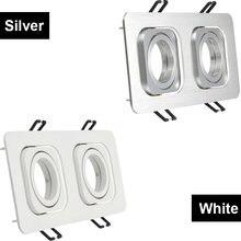 Двойная головка квадратная фотолампа регулируемый светодиодный