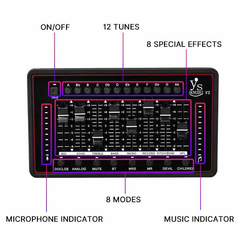 FELYBY מקצועי כרטיס קול עבור bm 800 סטודיו מיקרופון אודיו ממשק שידור הקלטת בידור Streamer קול כרטיס