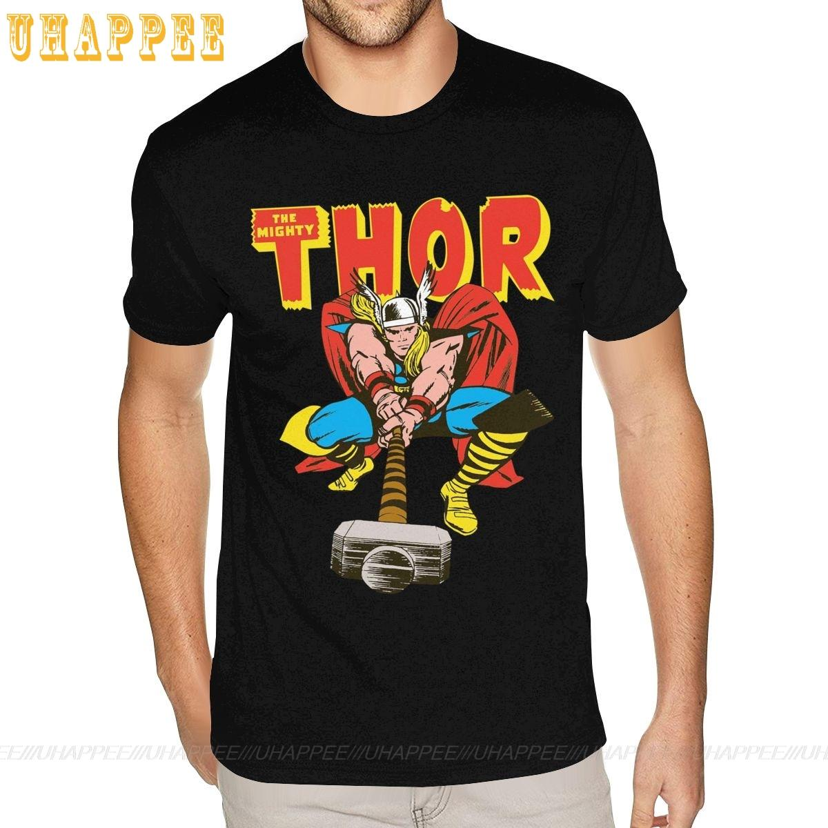 Anime Thor Ragnarok Tees Shirt Small Size For Men Cotton Cotton T-shirt