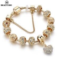 ORTHÈSE CODE Doré Amour Charme Charme Dame Bracelet Mode BRICOLAGE Serpent Os Chaîne Marque Bracelet Cadeau Livraison Directe