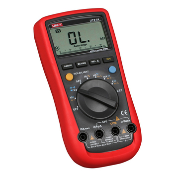 UNI-T Tester Digital Multimeter Profesional Transistor NCN Tester Meter Volt Ohm Frq Ammeter With Backlight Display Multimeters