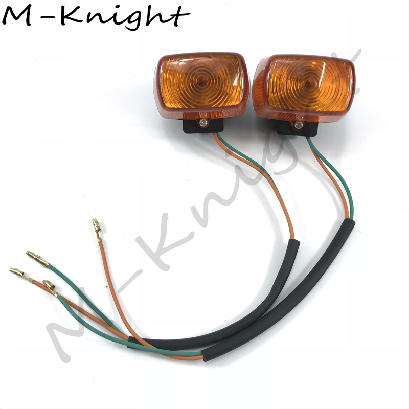 Arunnon Motorcycle Turn Signals Lights Indicators FOR <font><b>HONDA</b></font> <font><b>ZOOMER</b></font> 50 <font><b>AF58</b></font> DIO Front/rear turn signal assembly image