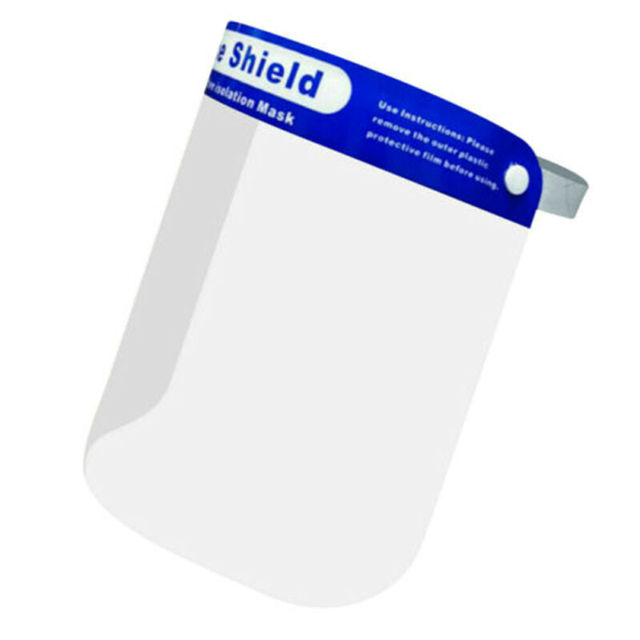 In stock now Protection Hat Anti Saliva Clear Hat Full Face Shield Full Face Isolation 4