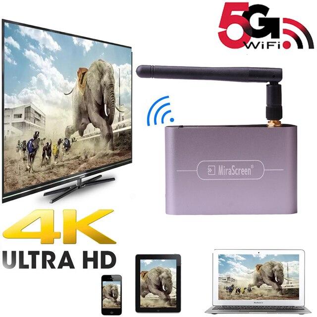 4K 5G 1080P HDTV 스틱 HDMI VGA 3.5MM 오디오 무선 Wifi 디스플레이 동글 어댑터 스크린 미러 IOS 안 드 로이드 전화 TV 프로젝터