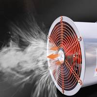 Strong Exhaust Fan Kitchen Fume Industry Home Cylinder Pipeline Ventilation High Speed Fan