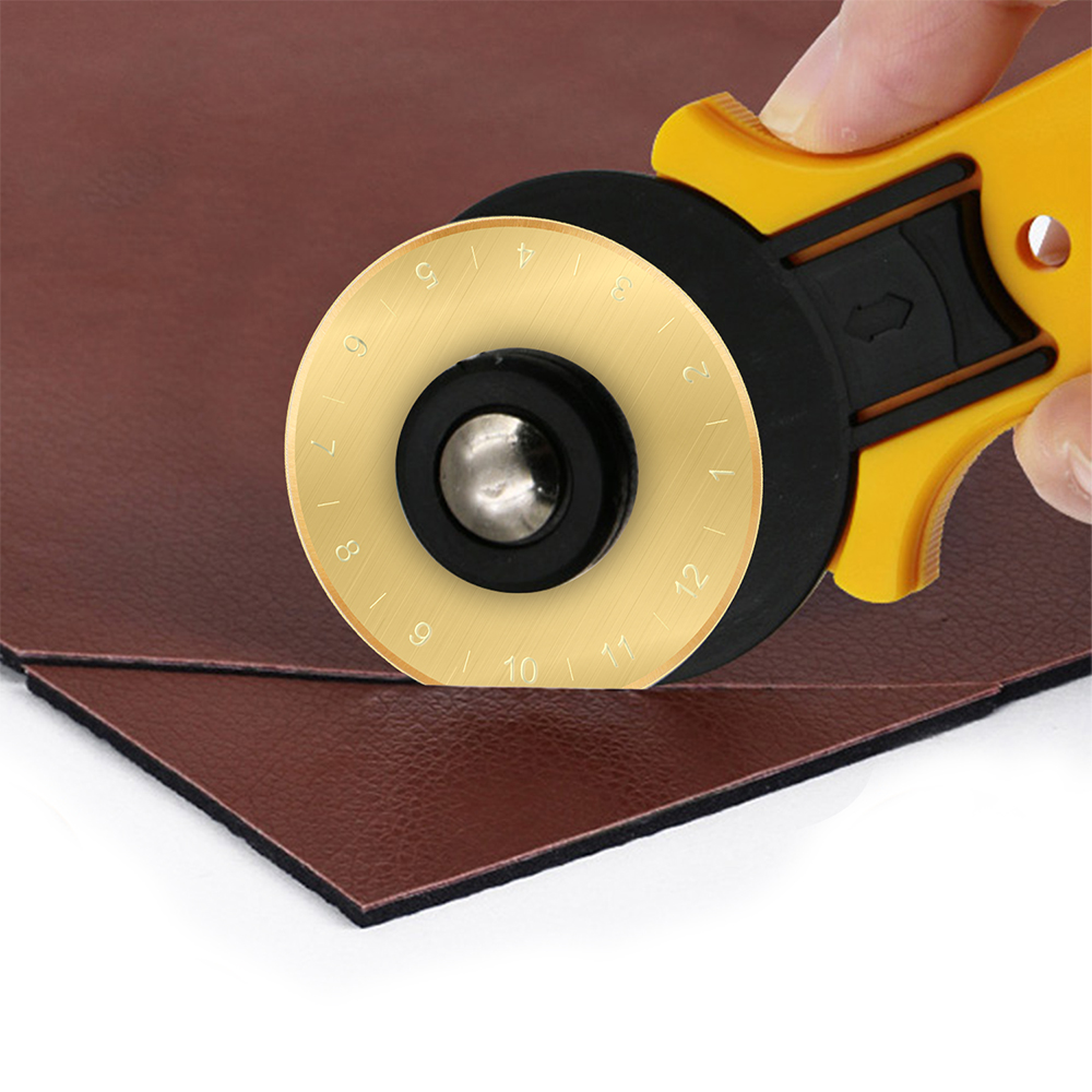 2 PK Roll The Gold 45MM Gold Titanium Coated Rotary Cutting Blade Refill