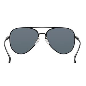 Image 2 - origianl Xiaomi Mijia Youpin Aviator Pilot Traveler Sunglasses Polarized Lens Sunglasses for Man and Woman mi life Sunglas