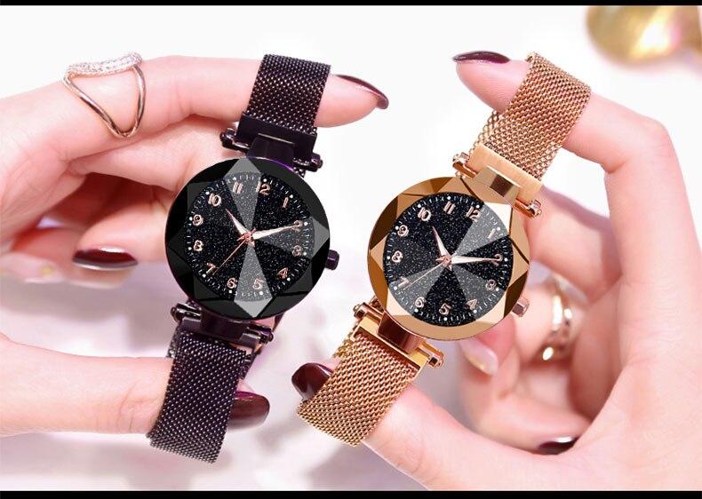 magnetic wrist watch womens
