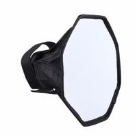 Difusor de Flash plegable Universal, caja de luz suave profesional para Mini foto, para cámara Canon, Nikon y Sony