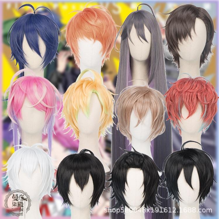 Cosplay Wig Battle Ichiro Jakurai MIC Men Dice Rap Division Yamada Doppo Kannonzaka Arisugawa