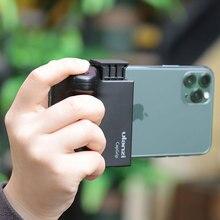 Ulanzi CapGrip สมาร์ทโฟน Selfie Wireless Bluetooth รีโมทคอนโทรลชัตเตอร์โทรศัพท์ Anti Shake Handle Grip Stabilizer ขาตั้ง
