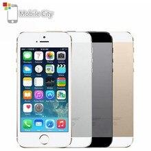 Apple iPhone 5 5S IOS orijinal akıllı telefon 4.0 ''16 GB/32 GB/64 GB ROM WiFi GPS 8MP dokunmatik kimlik parmak izi 4G LTE Unlocked cep telefonu = = = = = = = = = = = =