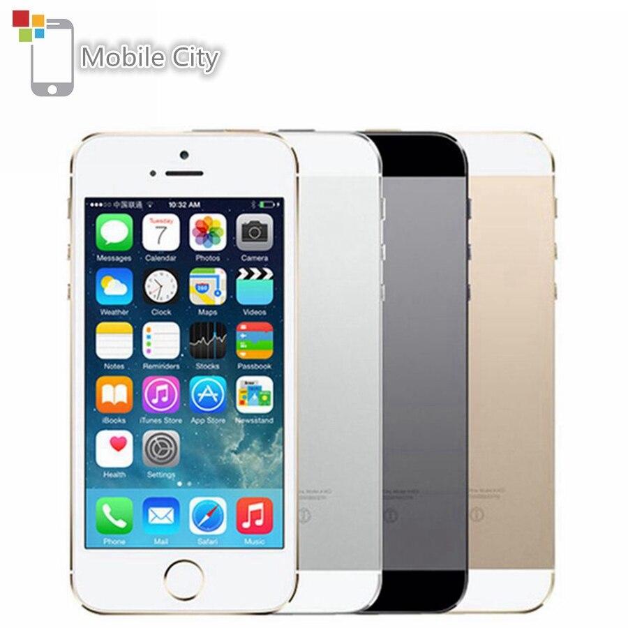 Apple の iphone 5 5S IOS オリジナルのスマートフォン 4.0