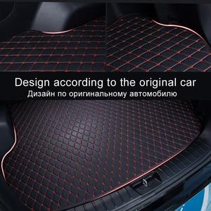 Image 4 - Mata bagażnika samochodowego dla Jeep Patriot 2009 2010 2011 2012 2013 2014 2015 2016 2017 mata do wyłożenia podłogi bagażnika dywan wnętrze osłona akcesoriów