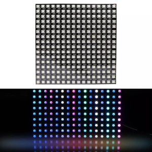 GBKOF 8x8 16x16 8x32 Pixels SK6812 WS2812B Individually Addressable Digital Flexible LED Panel Pixels Screen GyverLamp DC5V