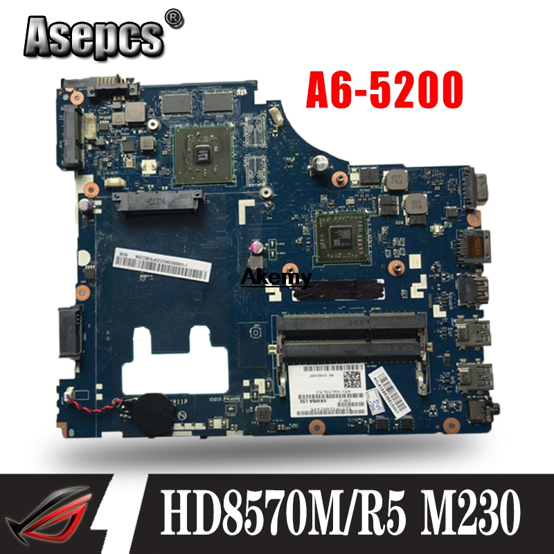 Buy G405 LA-9911P  For Lenovo G405 Laptop Motherboard LA-9911P Mainboard A6-5200 HD8570M/R5 M230 100% tested fully work for only 134.03 USD