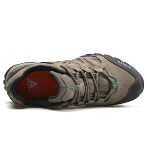 Image 5 - Мужская обувь для походов HUMTTO, спортивная обувь для активного отдыха, кемпинга, тактические кроссовки из коровьей замши, дышащая нескользящая обувь большого размера