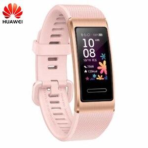 Image 2 - Original Huawei Band 4 Pro Smart Armband Innovative Uhr Gesichter Alone GPS Proaktive Gesundheit Überwachung SpO2 Blut Sauerstoff