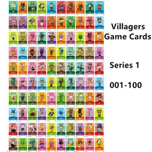 100pcs serie 1 villaggio di incrocio di animali Ntag215 Tag NFC giochi di animali attrezzature Card NS Switch WiiU Cards